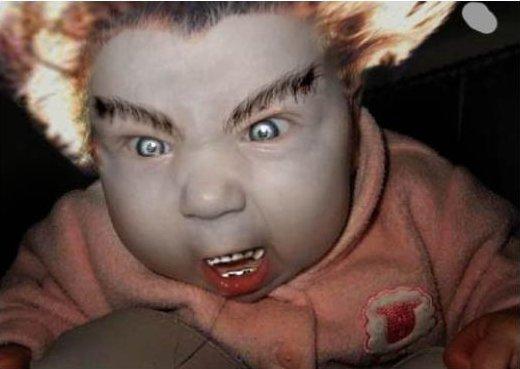 Вампир ребенок
