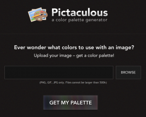 Pictaculous - A color Palette Generator