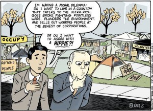 We are the 99% - Caricature from mattbors.com
