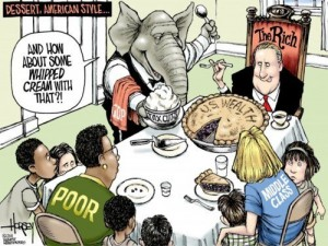 Dessert - the american style (from David Horsey)