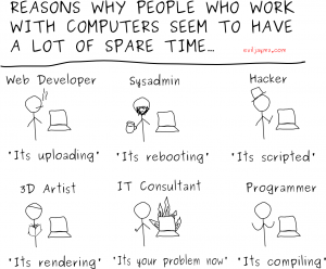 Why people seem to have freetime