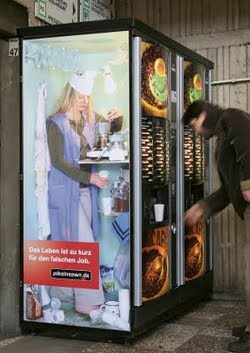 Jobs in Town Advertising (Kaffeeautomat)
