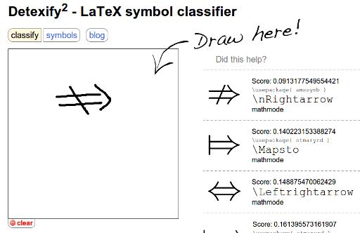 Latex symbols math