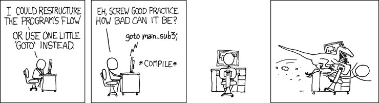 GOTO from xkcd.com