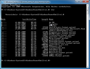 Windows PowerShell v1.0