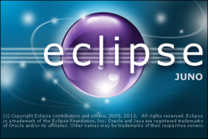 Eclipse Juno loading screen