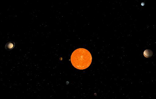 solar system three js - photo #10