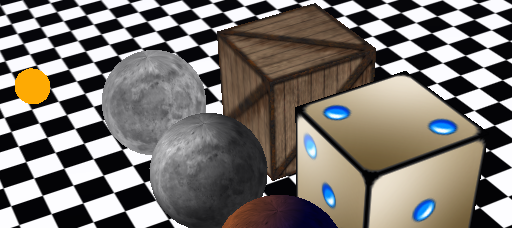 Three.js textures example