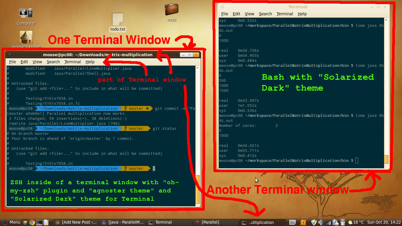 Working with Terminal · Martin Thoma