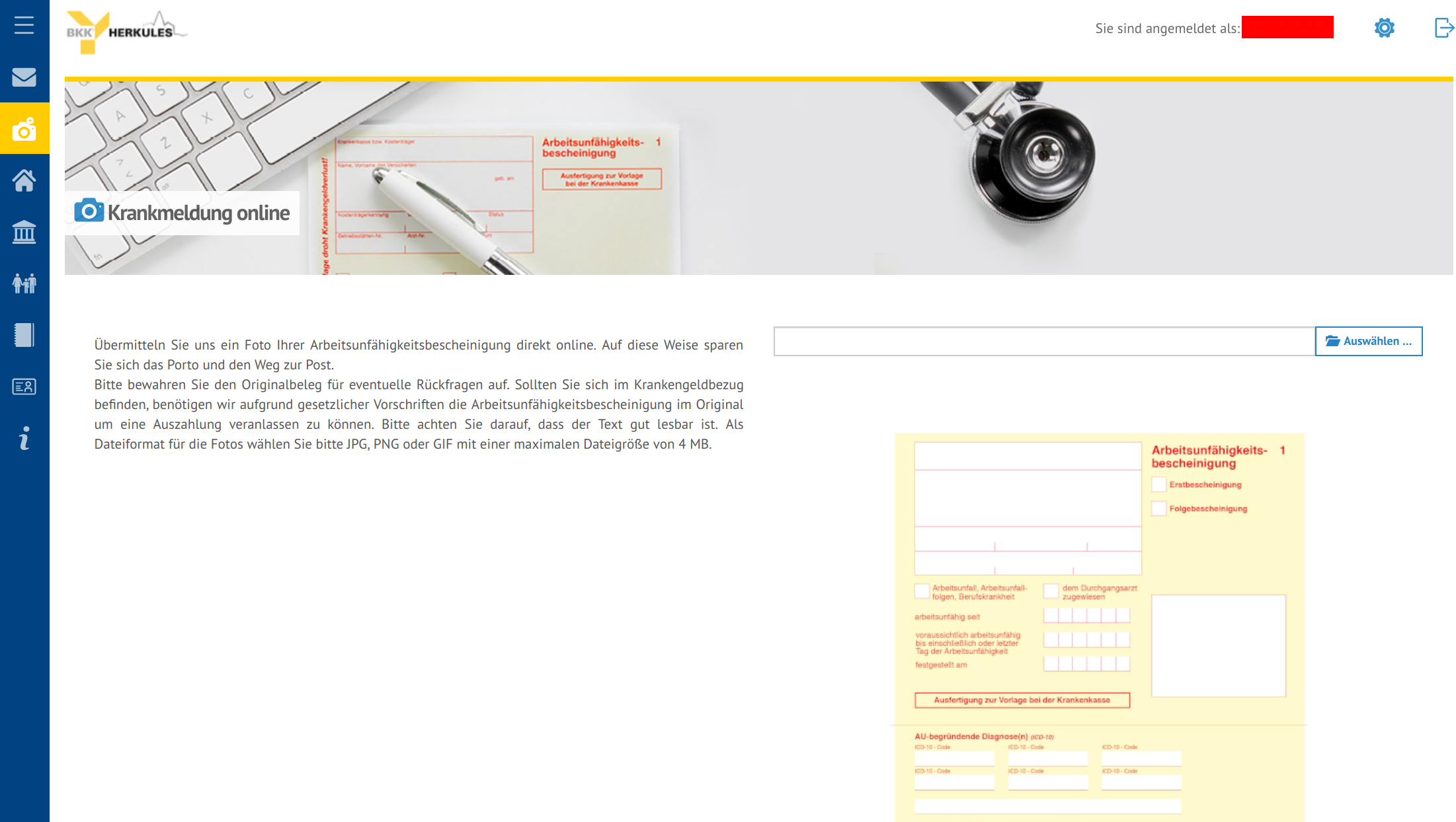 BKK Web Interface